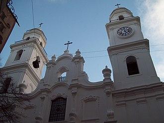 St. Ignatius Church (Buenos Aires) - Image: Primera Iglesia de Buenos Aires