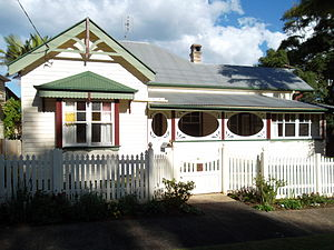 Bangalow - Image: Private residence, Lismore Rd., Bangalow NSW 2014