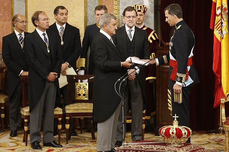 Proclamación de Su Alteza Real el Príncipe de Asturias como Rey de España 800px-Proclamacionfelipevi2