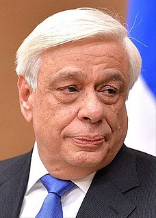 Prokopis Pavlopoulos President of Greece (2015-2020)