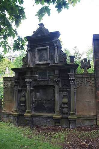 Charles Macintosh - Image: Provost Anderson's tomb, Glasgow Cathedral
