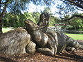 Public art - Diprotodon, Kings Park Perth.jpg