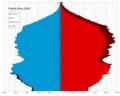 Puerto Rico single age population pyramid 2020.png