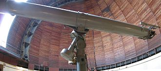 Pulkovo Observatory - The 65 cm Zeiss (25.59 inches) achromatic refractor of Pulkovo observatory