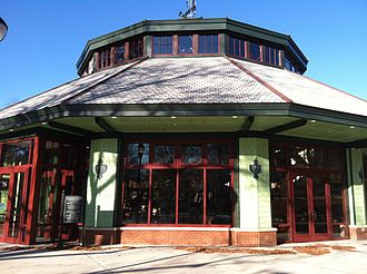 Pullen Park - Carousel house after 2011 renovations