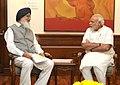 Punjab CM Badal meets PM Modi.jpg