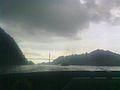 Punte Centenario día lluvioso.jpg