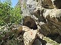 Pythagoras Cave entrance 1.jpg
