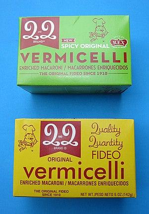 Vermicelli - Vermicelli (fideo)