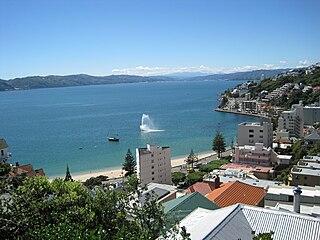 Oriental Bay suburb