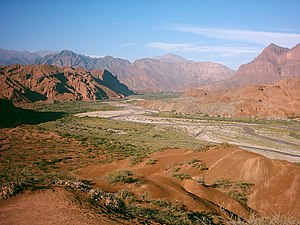 Calchaquí Valleys - Quebrada las Conchas, also known as Quebrada de Cafayate.