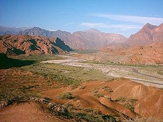 Calchaquí Valleys - Quebrada las Conchas, also known as Quebrada de Cafayate.
