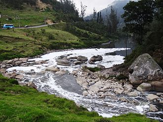 Tequendama - The Bogotá River, close to Tequendama