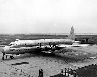 Lockheed R6V Constitution - BuNo. 85163 at NAS Jacksonville in 1949