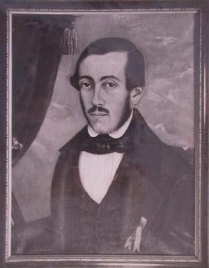 Franklin Rawson - Self-portrait (1838)