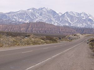The Amazing Race 7 - The Andes near Mendoza Province in Argentina were visited on this leg.