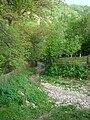RO AB Sartas wooden church 1 access road.jpg