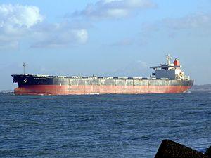 RUBIN ARTEMIS - IMO 9130614 - Callsign 3FAH7 leaving Port of Rotterdam, Holland 29-Nov-2006 photo-4.jpg