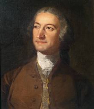 Francesco Zuccarelli - Portrait of Zuccarelli by Richard Wilson