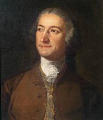 Francesco Zuccarelli - Portrait of Zuccarelli by Richard Wilson