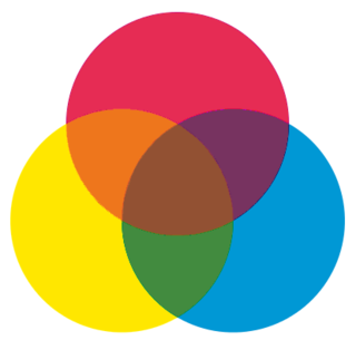 Secondary color Color made by mixing two primary colors