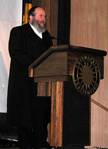 Rabbi Yaakov Horowitz Lecturing at Smithsonian.jpg
