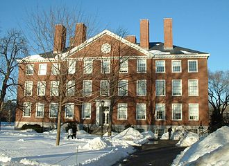 Radcliffe College - Image: Radcliffe winter