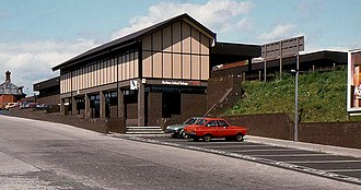 Ballymena railway station - Image: Railway station, Ballymena geograph.org.uk 2428572