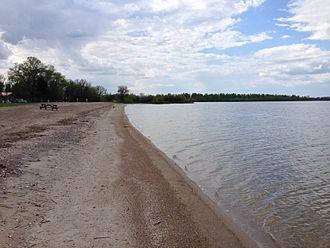 Dauphin Lake - Rainbow Beach on Dauphin Lake