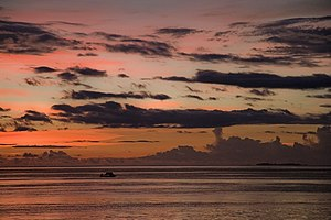 West Papua (province) - Sunset, Raja Ampat