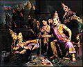 Raja Ravi Varma, Sita taken by Goddess Earth.jpg
