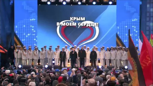 ファイル:Rally in support the Accession of Crimea to Russia.webm