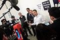 Rand Paul, Mick Mulvaney & Danny Tarkanian with media (23414771239).jpg