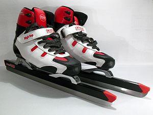 Tour skating - Modern dutch tour skates