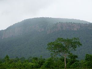 Eastern Ghats - Eastern Ghats during monsoon in Khammam district, Telangana