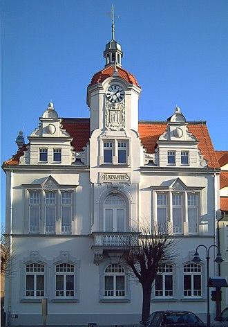 Ostritz - Image: Rathaus Ostritz saniert
