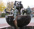 Rathausbrunnen Enkenbach-Alsenborn Sembacher Wind Neuhemsbacher Windmacher Baalborner Stier.jpg