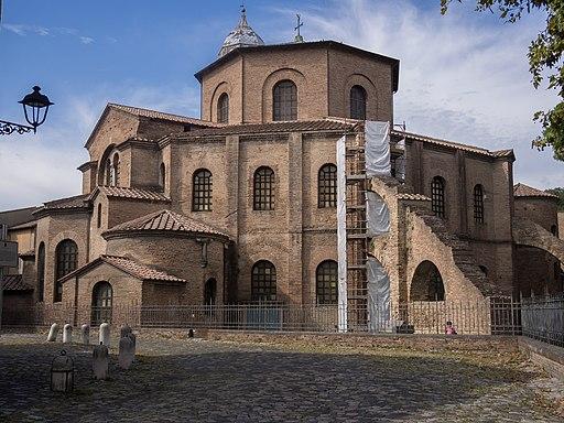 Ravenna - Basilica of San Vitale - building