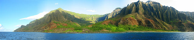 Kauai Panorama By Remember (photo taken by Remember) [Public domain], via Wikimedia Commons