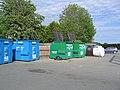 Recycling point at Llandrinio - geograph.org.uk - 1316818.jpg