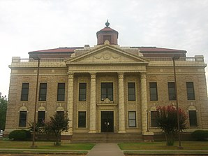 Das Red River Parish Courthouse in Coushatta