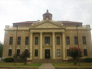 Red River Parish, Louisiana - Image: Red River Parish courthouse, LA