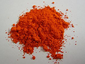Lead(II,IV) oxide - Image: Red lead