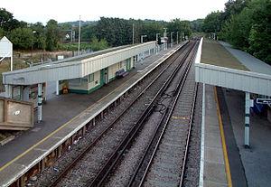 Reedham (Surrey) railway station - Image: Reedham Station, Old Lodge Lane, Purley CR8 geograph.org.uk 49428
