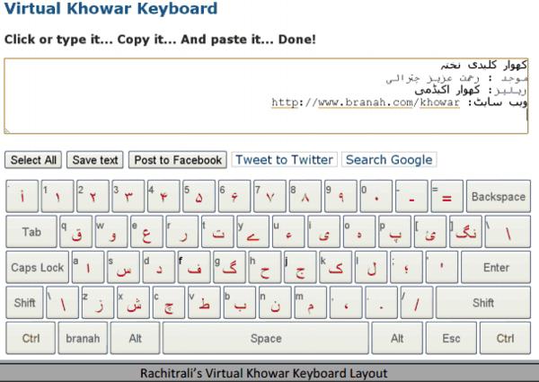 Arabic script keyboard layouts