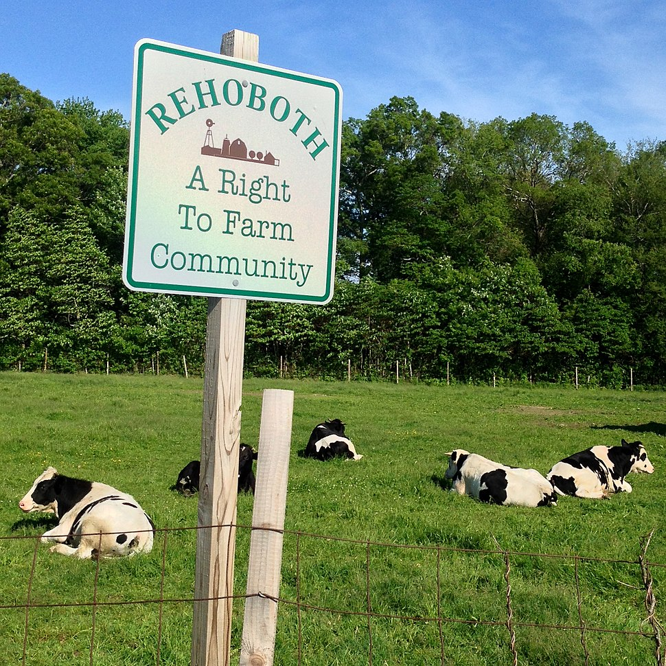 Rehoboth a right to farm community