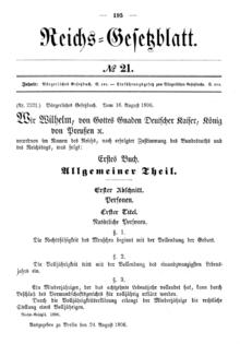Gesetzblätter Wikisource