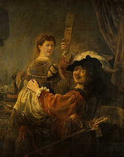 Rembrandt - Rembrandt and Saskia in the Scene of the Prodigal Son - Google Art Project