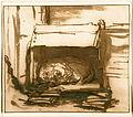 Rembrandt Harmensz. van Rijn - Sleeping Watchdog - Google Art Project.jpg