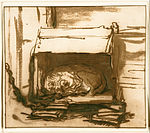 Rembrandt Harmensz. van Rijn - Sleeping Watchdog - Google Art Project.jpg